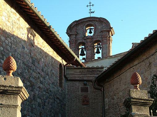Monticiano, antico insediamento presso la Merse