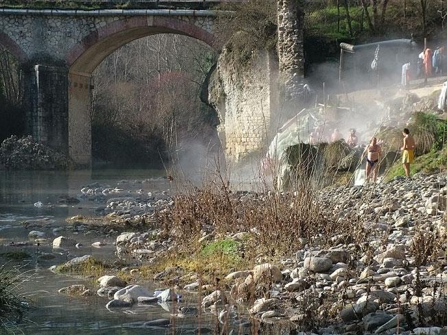 Acque termali in provincia di Siena
